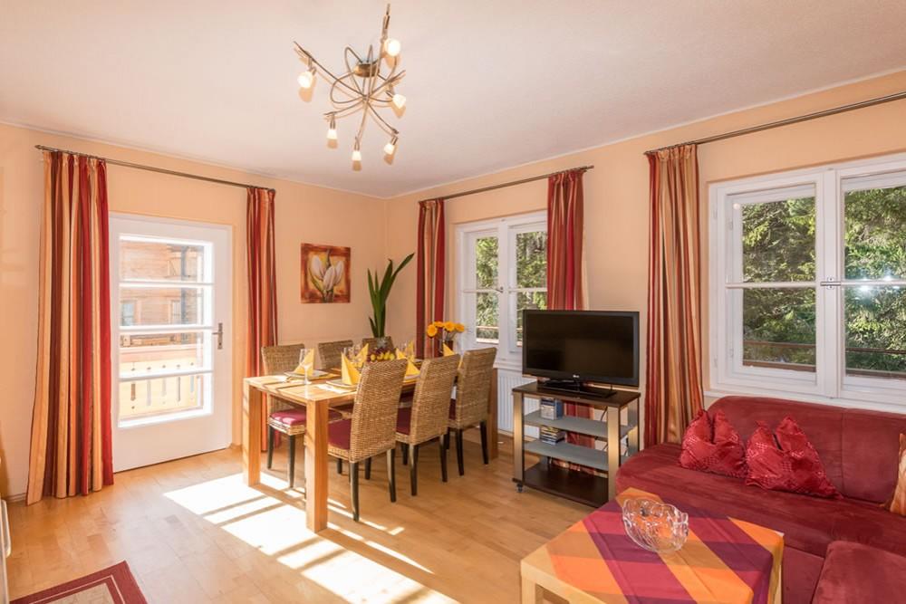 Appartement Mit Küche Im Landhaus Heimat